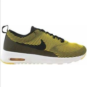 Nike Shoes - NIKE AIR MAX THEA BLACK / YELLOW SPECIAL EDITION
